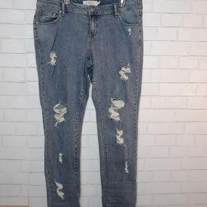 Torrid Boyfriend Distressed Jeans